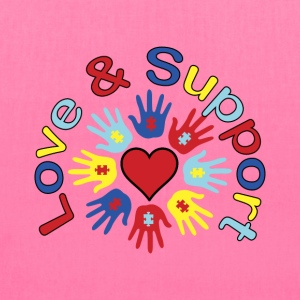 Autism Love and Support - Tote Bag