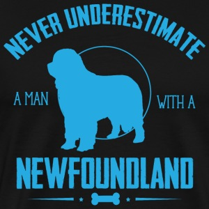 Dog Newfoundland NUM T-Shirts - Men's Premium T-Shirt