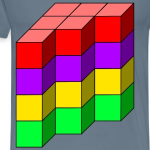 cube tower 12 - Men's Premium T-Shirt
