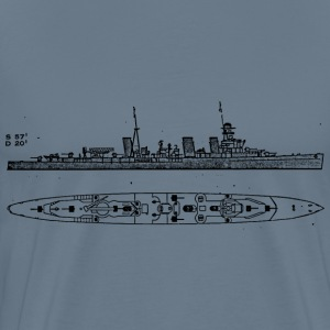 Eclass Battleship - Men's Premium T-Shirt
