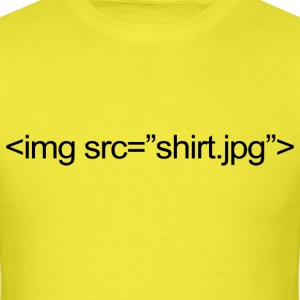 IMG SRC Code - Men's T-Shirt
