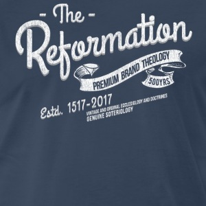 500th Anniversary Reformation Vintage T-Shirt - Men's Premium T-Shirt
