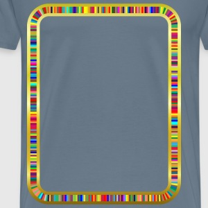 Colorful Tracks - Men's Premium T-Shirt