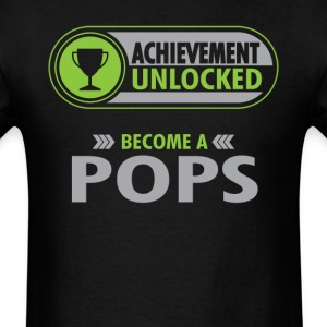 Pops Achievement Unlocked T-Shirt T-Shirts - Men's T-Shirt