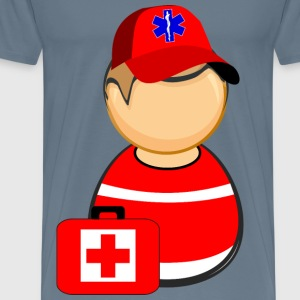 First responder paramedic - Men's Premium T-Shirt