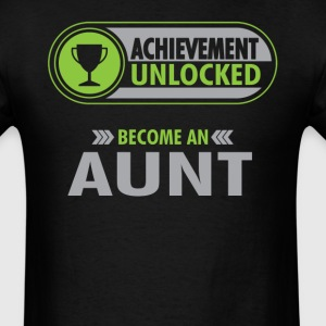 Aunt Achievement Unlocked T-Shirt T-Shirts - Men's T-Shirt