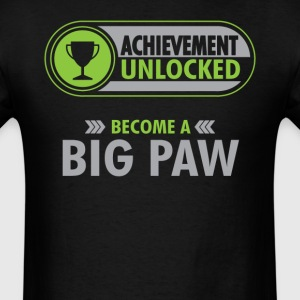Big Paw Achievement Unlocked T-Shirt T-Shirts - Men's T-Shirt