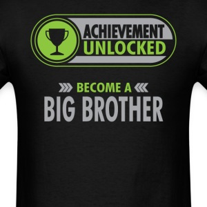 Big Brother Achievement Unlocked T-Shirt T-Shirts - Men's T-Shirt