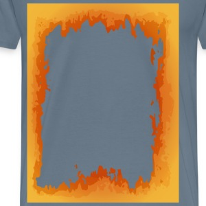 Fire Border - Men's Premium T-Shirt