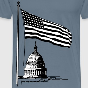 Capital Flag - Men's Premium T-Shirt
