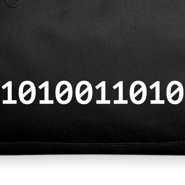The evil binary number Sportswear - Duffel Bag