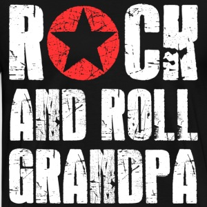 Rock and Roll Grandpa T-Shirts - Men's Premium T-Shirt