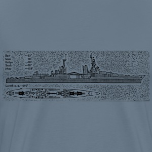 Indianapolis Battleship - Men's Premium T-Shirt