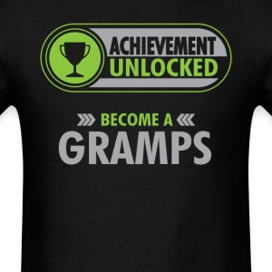 Gramps Achievement Unlocked T-Shirt T-Shirts - Men's T-Shirt