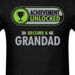 Grandad Achievement Unlocked T-Shirt T-Shirts - Men's T-Shirt