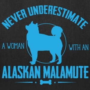 Dog Alaskan Malamute NUW Bags & backpacks - Tote Bag