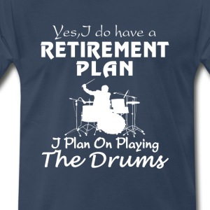 PLAYING THE DRUMS - Men's Premium T-Shirt