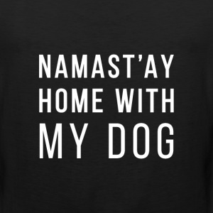 NAMASTY home with dog Sportswear - Men's Premium Tank