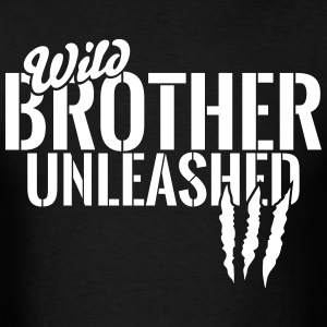 wild brother unleashed T-Shirts - Men's T-Shirt