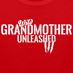 wild grandmother unleashed Sportswear - Men's Premium Tank