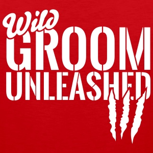 wild groom unleashed Sportswear - Men's Premium Tank