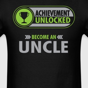 Uncle Achievement Unlocked T-Shirt T-Shirts - Men's T-Shirt