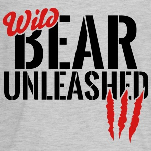 wild bear unleashed Kids' Shirts - Kids' Premium Long Sleeve T-Shirt