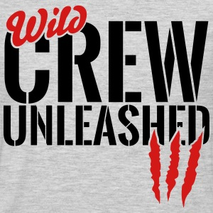 wild crew unleashed Long Sleeve Shirts - Men's Premium Long Sleeve T-Shirt
