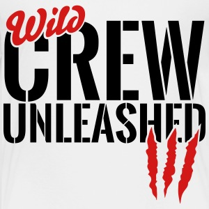 wild crew unleashed Baby & Toddler Shirts - Toddler Premium T-Shirt