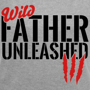 wild father unleashed T-Shirts - Women´s Rolled Sleeve Boxy T-Shirt