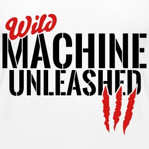 wild machine unleashed Tanks - Women's Premium Tank Top