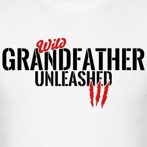 wild grandfather unleashed T-Shirts - Men's T-Shirt