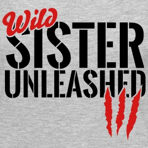 wild sister unleashed Long Sleeve Shirts - Women's Premium Long Sleeve T-Shirt