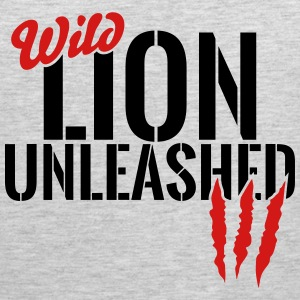 wild lion unleashed Sportswear - Men's Premium Tank