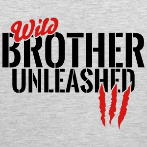 wild brother unleashed Sportswear - Men's Premium Tank