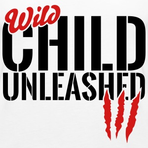 wild child unleashed Tanks - Women's Premium Tank Top