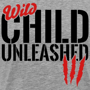 wild child unleashed T-Shirts - Men's Premium T-Shirt