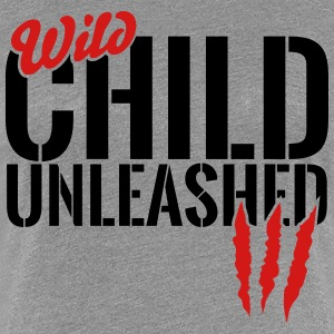 wild child unleashed T-Shirts - Women's Premium T-Shirt