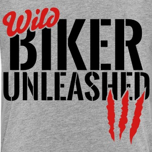 wild biker unleashed Baby & Toddler Shirts - Toddler Premium T-Shirt