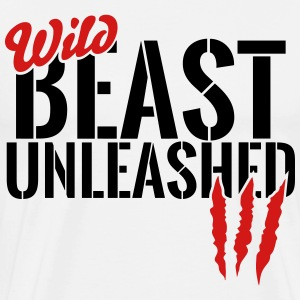 wild beast unleashed T-Shirts - Men's Premium T-Shirt