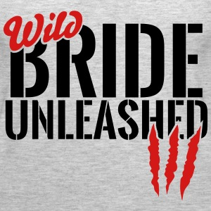 wild bride unleashed Tanks - Women's Premium Tank Top