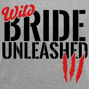 wild bride unleashed T-Shirts - Women´s Rolled Sleeve Boxy T-Shirt