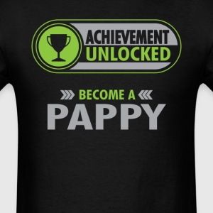 Pappy Achievement Unlocked T-Shirt T-Shirts - Men's T-Shirt