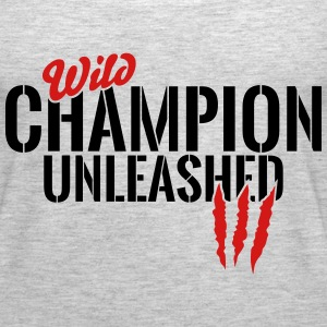 wild champion unleashed Tanks - Women's Premium Tank Top