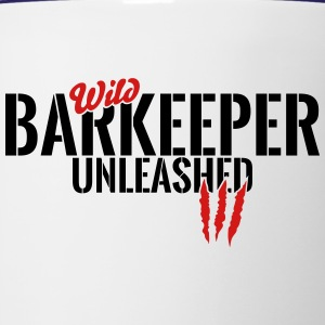 wild barkeeper unleashed Mugs & Drinkware - Contrast Coffee Mug