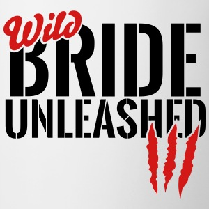 wild bride unleashed Mugs & Drinkware - Contrast Coffee Mug