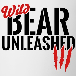 wild bear unleashed Mugs & Drinkware - Contrast Coffee Mug
