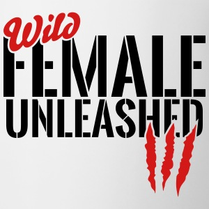 wild female unleashed Mugs & Drinkware - Coffee/Tea Mug