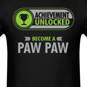 Paw Paw Achievement Unlocked T-Shirt T-Shirts - Men's T-Shirt