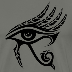 Horus Eye, Feathers, Ra, Ancient Egypt, Symbols T- - Men's Premium T-Shirt